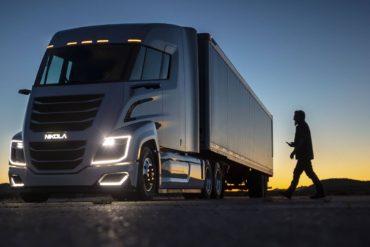 2020 Top eTrucks - Nikola Semi Truck - Main Image