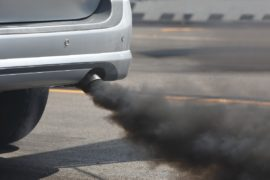 lessen car air pollution